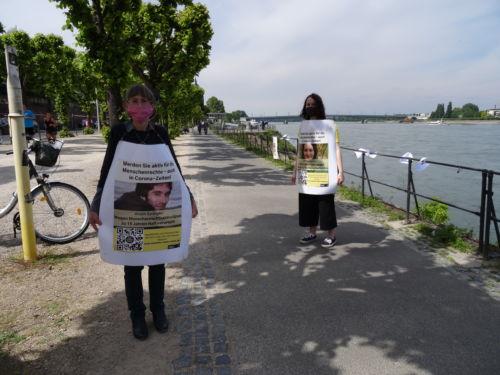 Aktiv für Menschenrechtler im Iran